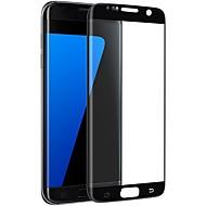 Vidro Temperado Protetor de Tela para Samsung Galaxy S7 edge Protetor de Tela Integral Borda Arredondada 2.5D À prova de explosão