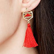 Dame Øreringe sæt Smykker Boheme Stil Euro-Amerikansk Hypoallergenisk Håndlavet Mode Rustfrit Stål Guldbelagt Ionbelægning Geometrisk form