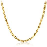 Férfi Rövid nyakláncok Ékszerek Geometric Shape Arannyal bevont Divat Szikla Gótikus luxus ékszer Klasszikus jelmez ékszerek Ékszerek