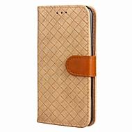 Til iPhone X iPhone 8 iPhone 8 Plus Etuier Pung Kortholder Med stativ Flip Mønster Magnetisk Heldækkende Etui Geometrisk mønster Hårdt