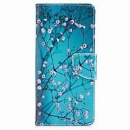 kotelo samsung-galaksilevyille 8 kukkakorttikotelo pu-lompakko nahkainen korttipussi, jossa kuvio