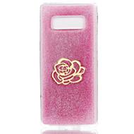 hoesje voor Samsung Galaxy Note 8 Case Cover Pattern achterkant hoesje bloem zacht silicone