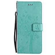 na portfel skrzynki pokrowiec na portfel z portfelem podstawka na klapkę na całej obudowie kareta kota drzewo twarda skóra pu do samsung