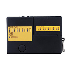 Multi-functional Cable Tester for RJ45 and RJ11