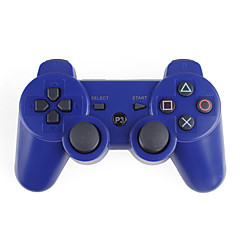 Trådløs DualShock 3 Controller til PlayStation 3 PS3 (Blue)