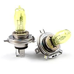 HOD H4 100/90W 2800K Ultra Bright Car Yellow Light Bulbs (DC 12V/Pair)