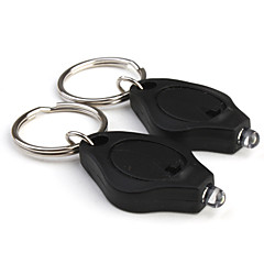 Made-in-Japan Nichia 35000mcd LED Super Flashlight Keychains (2-Pack)