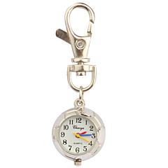 Γυναικεία Μοδάτο Ρολόι Ρολόι Καρπού Χαλαζίας Αθλητικό Ρολόι Μπάντα Λευκή Ασημί