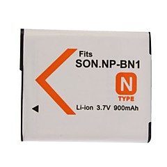 900mAh baterie fotoaparátu NP-BN1 pro Sony Cybershot DSC-W320, W350, W380