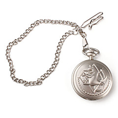 Fullmetal Alchemist cosplay reloj de bolsillo