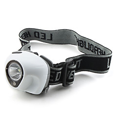 3-faros LED Mode (1W, blanco)