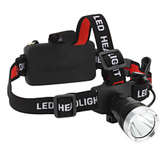 Lights LED Flashlights/Torch / Headlamps LED 160 Lumens 3 Mode Cree XM-L T6 18650Waterproof / Rechargeable / Super Light / Compact Size /