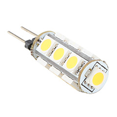 G4 13x5050 SMD Warm White Light LED Bulb for Car (12V)