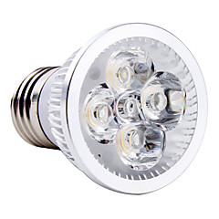 4W E26/E27 Spot LED MR16 4 LED Haute Puissance 360 lm Blanc Naturel AC 85-265 V