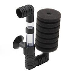 baixo nível de ruído aquário bioquímica água dual-esponja do filtro (15cm x 8cm x 5cm)