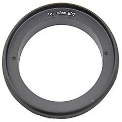62mm bague adaptatrice inverse pour appareil photo Canon EOS