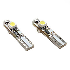 T5 3*1210 SMD White LED Car Signal Light