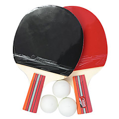 KANSA Table Tennis Racket Penhold Grip, Ping Pong Paddle (2-Pack, 3 Balls Included)