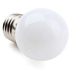 1W E26/E27 LED Globe Bulbs G45 12 SMD 3528 30 lm Warm White AC 220-240 V