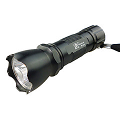 LED Flashlights/Torch / Handheld Flashlights/Torch LED 1 Mode Lumens Others AA Others , Black Aluminum alloy