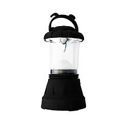 portato lanterna piccolo campeggio (nero)