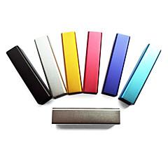 Trendigt 2400mHa Externt Batteri för iPhone, Mobiltelefon, Mp3 etc. (Slumpmässiga färger)