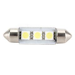 High-Performance-41mm 3 * 5050 SMD weiß LED KFZ Signallicht CANbus