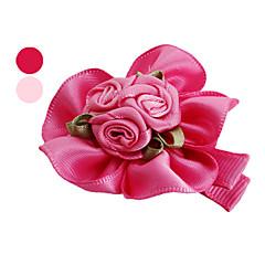 Perros Accesorios de Pelo Rosado Rosa Ropa para Perro Verano Primavera/Otoño Flor Cumpleaños Vacaciones