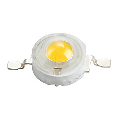 Epistar 3200-3500k 3w 170-190lm 700mAh blanco cálido bombilla LED de luz (3.4-3.8V)