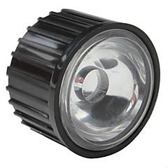 20mm 120 ° optisk glass med ramme for lommelykt, spot lys