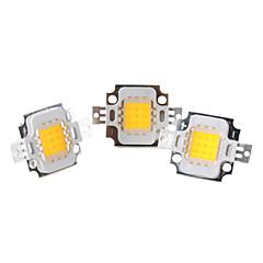 DIY 10W 800-900LM 2850-3050K Warm White Light Integrate LED Emitter (3-Pack, 9-11V)