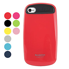 Stylish Silicone Hard Case for iPhone 4 and 4s (Assorted Colors)