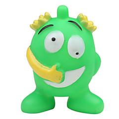 개 반려동물 장난감 씹는 장난감 / 소리 장난감 찍찍 소리를 내다 / 만화 / 할로윈 그린 고무
