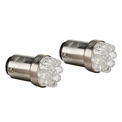 BAY15D (1157) Automatique Blanc 0.5W LED Dip 6000 Feux stop