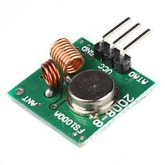433MHz langaton moduuli superregeneration Arduino (vihreä)