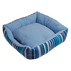 Estilo Inglaterra Stripe Padrão cama do cão dobrável (cores sortidas, 50 x 50cm)