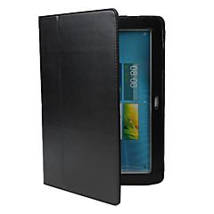 PU suojakuori jalustalla Samsung Galaxy 10.1 Tab P7500/P7510:lle