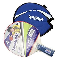 LENWAVE Wooden Short Handle Table Tennis Bats (1 pcs)