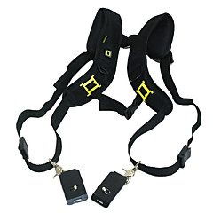 Quick Release Double shoulder Camera Neck Strap for 2 Digital SLR Camera