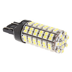 T20 (7443) 5W 96x3528 SMD 280LM Natural White Light LED Bulb för bil dimljus (12V)