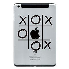 o und x Entwurfsschutz Aufkleber für ipad mini 3, iPad mini 2, iPad mini