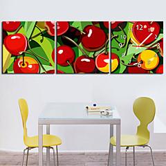 Modern Style Scenic Canvas Wall Clock 3pcs K219