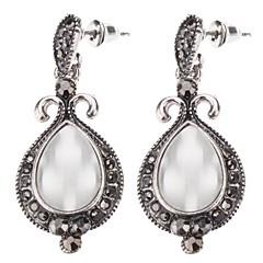 Z&X®  Vintage Style Water-drop Shape Opal Earrings
