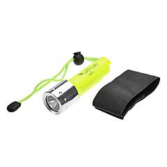 LED Flashlights / Diving Flashlights / Handheld Flashlights LED 1 Mode 1000 Lumens Waterproof Cree XM-L T6 18650 Diving/Boating - Others ,