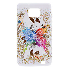 Butterfly Design Soft Case para Samsung I9100 Galaxy S2