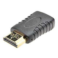 HDMI macho a mini adaptador HDMI hembra para Samsung I9300 Galaxy S3 y otros