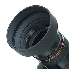 49mm Rubber Lens Hood for Wide angle, Standard, Telephoto Lens