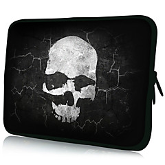 "Skull Mønster 7 ""/ 10"" / 13 ""Laptop Sleeve Case for MacBook Air Pro / Ipad Mini / Galaxy Tab2/Sony/Google Nexus 18150"