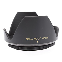 Mennon 67mm Lens Hood for Digital Camera Objektiver 16mm +, Film linser 28mm +