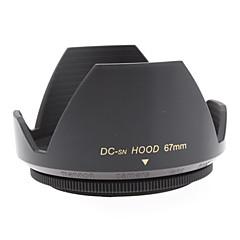 デジタルカメラ用レンズ16ミリメートル+フィルムレンズ28ミリメートルのためのMennon 67ミリメートルレンズフード+